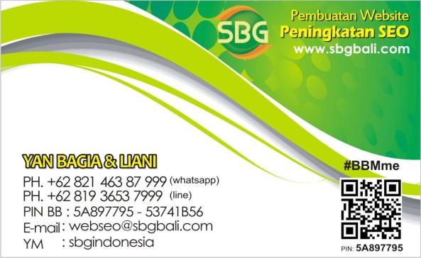 WEB SEO nama SBGBALI